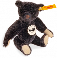 click to see Steiff  1908 Replica Black Miniature Teddy in detail