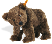 click to see Steiff  Rocky Grizzly Bear in detail