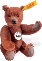 click to see Steiff  Classic Teddy Bear In Russet in detail