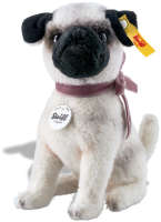 click to see Steiff  Little Lielou Pug in detail