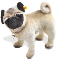 click to see Steiff  Lielou Pug in detail
