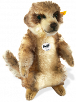 click to see Steiff  Mohair Cockie Meerkat in detail