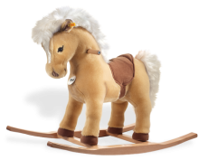 click to see Steiff  Franzi Riding Pony in detail