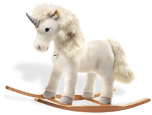 click to see Steiff  Starly Riding Unicorn in detail