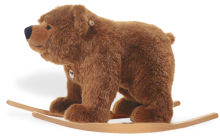 click to see Steiff  Urs Riding Bear in detail