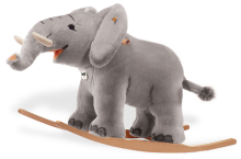 click to see Steiff  Trampili Riding Elephant in detail