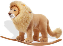 click to see Steiff  Leo Riding Lion in detail