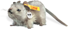 click to see Steiff  Pieps Mouse in detail