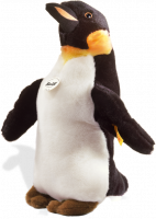 click to see Steiff  Charly Emperor Penguin in detail