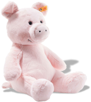 click to see Steiff  Cuddly Oggie Pig in detail