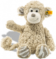 click to see Steiff Bingo Monkey Cuddly Friend in detail