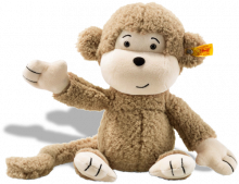 click to see Steiff Brownie Monkey Cuddly Friend (30cm) in detail