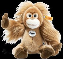 click to see Steiff  Elani Baby Orang-utan in detail