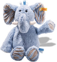 click to see Steiff Steif Cuddly Earz Elephant in detail