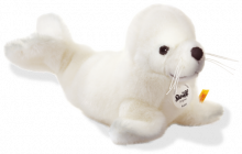 click to see Steiff  Robby Baby Seal in detail