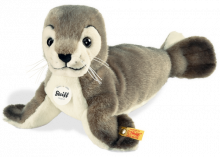 click to see Steiff  Robby Seal - Children Love Seals in detail
