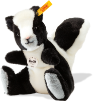 click to see Steiff  Sniffy Skunk in detail