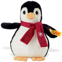 click to see Steiff  Flaps Christmas Penguin in detail