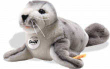 click to see Steiff  Sheila Baby Seal in detail