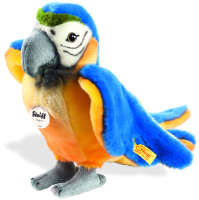 click to see Steiff  Lori Parrot in detail