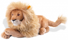 click to see Steiff  Leo Lion in detail
