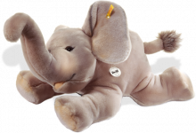 click to see Steiff  Trampili Elephant - Large Christmas Surprise! in detail