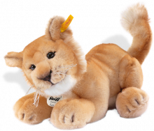 click to see Steiff  Leo Baby Lion in detail