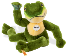click to see Steiff  Froggy Dangling Frog in detail