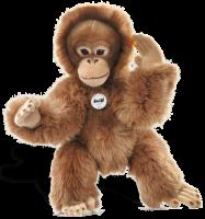 click to see Steiff  Bongo Dangling Orang-utan in detail