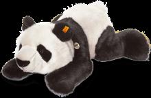 click to see Steiff  Lying Manschli Panda in detail