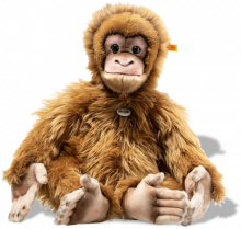click to see Steiff  Alena Orang-utan in detail