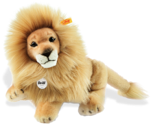 click to see Steiff  Leo Dangling Lion in detail