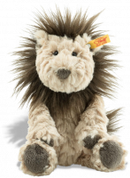 click to see Steiff  Cuddly Lionel Lion in detail