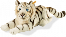 click to see Steiff  Bharat White Tiger in detail