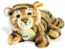 click to see Steiff  Radjah Baby Dangling Tiger in detail