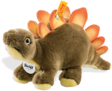 click to see Steiff  Siggi Stegosaurus in detail