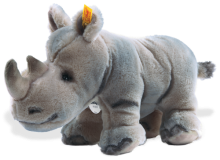 click to see Steiff  Rino Rhinoceros in detail