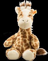 click to see Steiff  Cuddly Girta Giraffe in detail