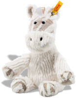click to see Steiff Stripie Zebra Cuddly Friend in detail