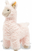 click to see Steiff  Soft Cuddly Friends Luciana Llama in detail