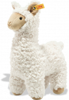 click to see Steiff  Soft Cuddly Friends Leandro Llama in detail