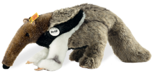 click to see Steiff  Andy Anteater in detail