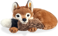 click to see Steiff  Xorry Fox - A 'big' Gift At 55cm in detail
