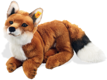 click to see Steiff  Snobby Dangling Fox in detail