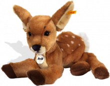 click to see Steiff  Rieke Dangling Fawn in detail