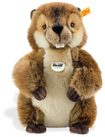 click to see Steiff  Nagy Beaver in detail