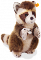 click to see Steiff  Knuffi Raccoon in detail