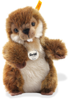 click to see Steiff  Bobby Beaver in detail