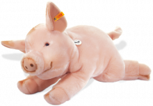 click to see Steiff  Sissi Piglet - A Large Soft Animal in detail