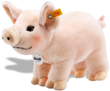click to see Steiff  Piggy Pig in detail